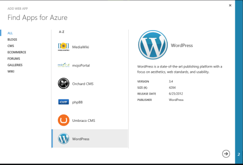 Azure Find Apps image