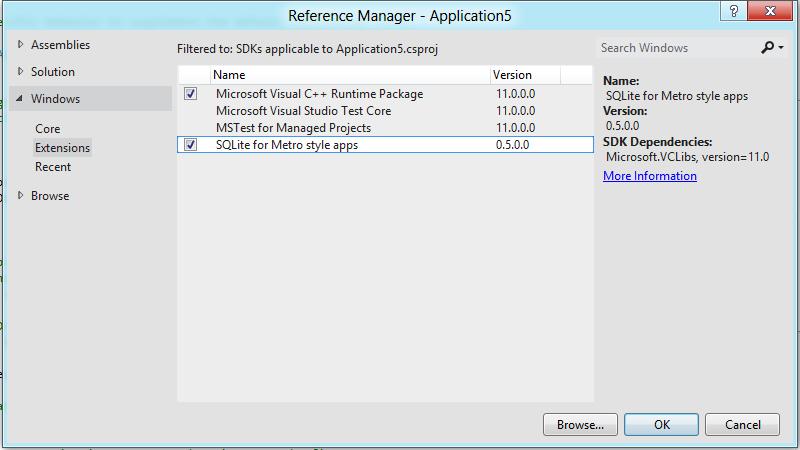 SQLite Extension SDK