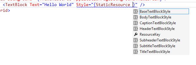 VS Style IntelliSense image