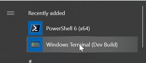 Navigating the new Windows Terminal capabilities and code